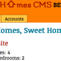 Homes, Sweet Homes CMS